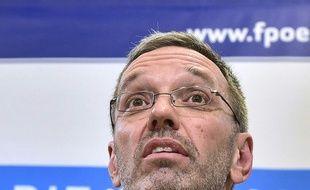 Le ministre de l'Intérieur autrichien, Herbert Kickl.