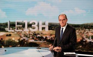 Le Premier ministre Jean Castex au 13 Heures de TF1, le 21 juillet 2021.