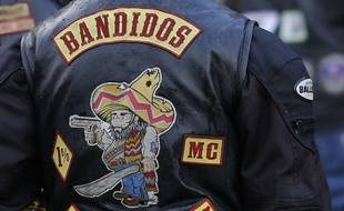Illustration. Blouson d'un Bandidos.