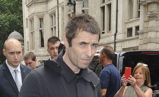 Le musicien Liam Gallagher à Londres.