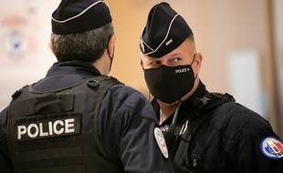 Des agents de police français (illustration).