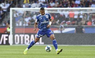 Alexander Dijku a rejoint le RC Strasbourg cet été, en provenance du Stade Malherbe de Caen.