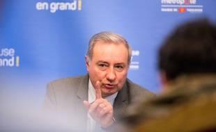 Jean-Luc Moudenc (LR), le maire sortant de Toulouse.