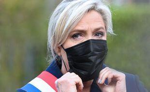 Marine Le Pen, le 11 novembre 2020 à Hénin-Beaumont.