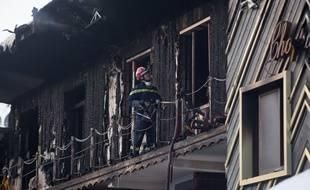 Après l'incendie ayant coûté la vie à deux saisonniers dans la station de Courchevel, la solidarité se met en place. Ania Freindorf/SIPA