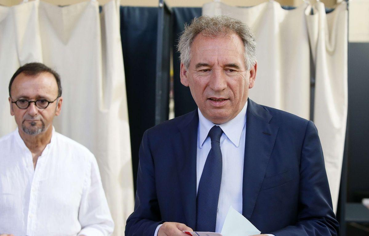 Francois Bayrou, le 11 juin 2017 à Pau. (AP Photo/Bob Edme) – Bob Edme/AP/SIPA
