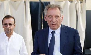 Francois Bayrou, le 11 juin 2017 à Pau. (AP Photo/Bob Edme)