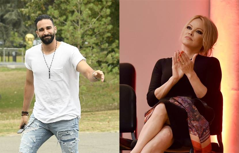 Marseille: Trop d'argent pour Notre-Dame... Pamela Anderson et Adil Rami quittent le gala de l'OM
