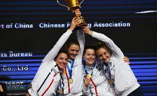 Les sabreuses françaises sont championnes du monde
