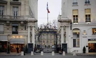 Le ministère de l'Intérieur, place Beauvau, à Paris