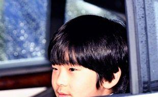 Le prince héritier japonais Hisahito, 12 ans.