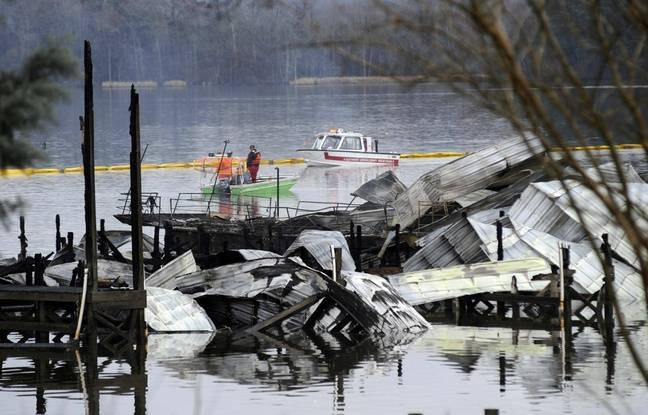 Etats-Unis: Un incendie dans un port de plaisance de l'Alabama fait huit morts