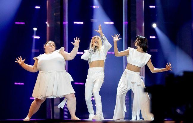 Eurovision : la robe impressionnante de Bilal Hassani lors de la cérémonie d'ouverture