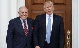 Donald Trump et Rudy Giuliani, le 20 novembre 2016.