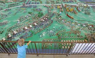 Les figurines utilisées ont été mises à disposition, le temps du week-end, par 37collectionneurs européens.