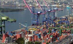 Le port de Rio de Janeiro, le 28 juin 2014