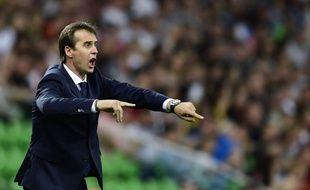 Julen Lopetegui prendra la tête du Real de Madrid après la Coupe du Monde, qu'il dispute avec la Roja