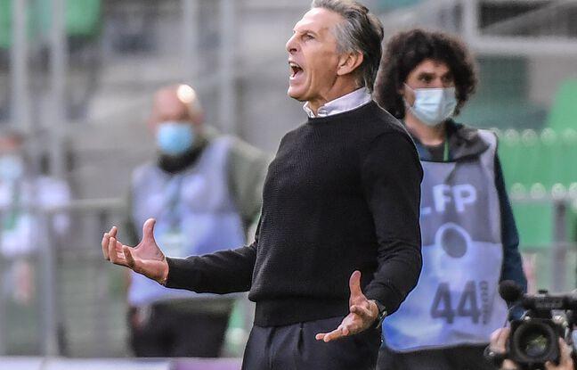 Claude Puel n'a pas masqué sa déception, ce dimanche durant la nouvelle désillusion de son équipe face au MHSC. PHILIPPE DESMAZES