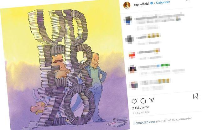 Mort d'Uderzo: Les hommages au dessinateur d'Astérix se multiplient