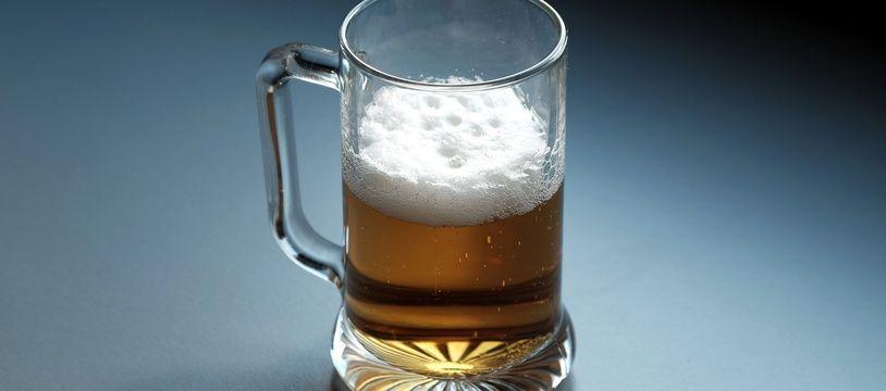 Bière. Illustration.