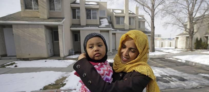 Nimo Hashi, une réfugiée somalienne accueillie à Salt Lake City.