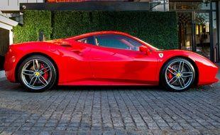 Une Ferrari 488. (Illustration)