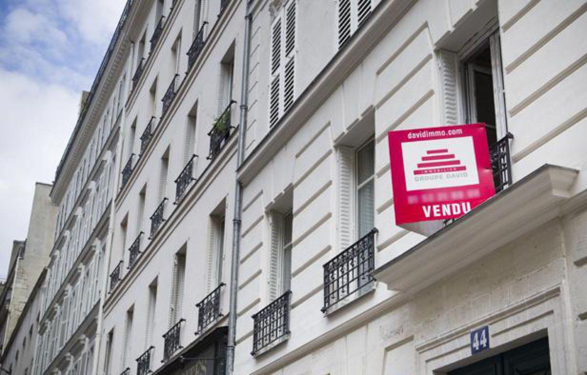 Illustration vente immobilier à Paris. – V. WARTNER / 20 MINUTES