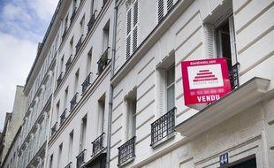 Illustration vente immobilier à Paris.