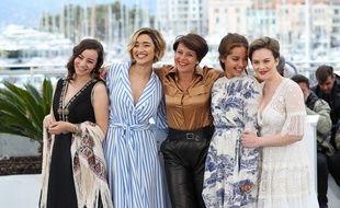 Les actrices et la réalisatrice de «Papicha» ont présenté le film à Cannes en mai dernier.