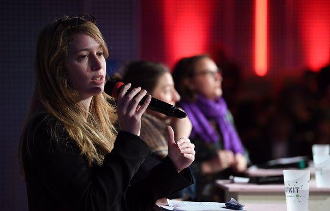 Tatiana de Feraudy pendant la discussion sur les civi tech, au Grand barouf numérique à Lille le 21 mars 2019.