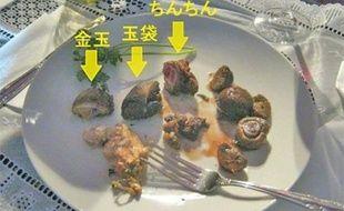 Mao Sugiyama a cuisiné ses parties génitales et les a servies à dîner moyennant 200 euros, en mai 2012 au Japon.