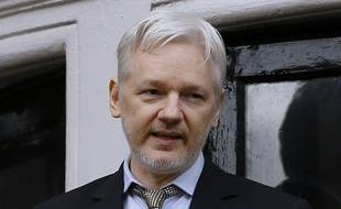 Le 5 février 2016, Julian Assange. AP Photo/Kirsty Wigglesworth.
