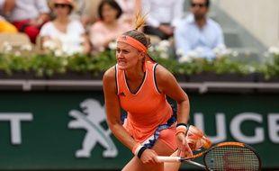 Mladenovic est éliminée de Roland-Garros dès le premier tour.