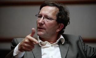 Jacques Pfister Pdt de la Chambre de Commerce et d'Industrie de Marseille Provence
