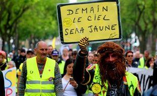 Des centaines de «gilets jaunes» s'étaient donné rendez-vous à Amiens.