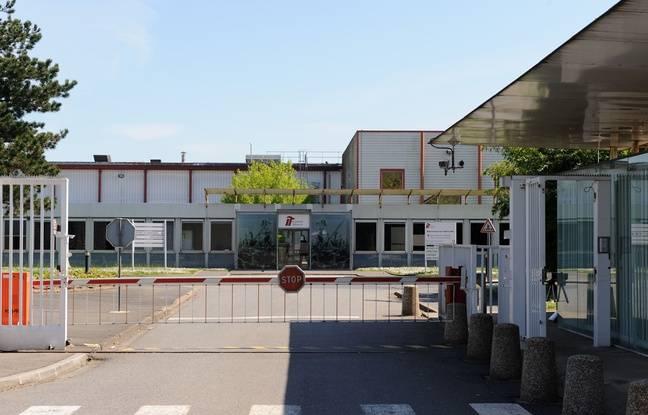 L'ex usine de cigarettes Seita à Carquefou, près de Nantes.