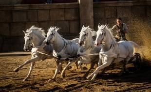 Jack Huston dans Ben-Hur de Timur Bekmanbetov