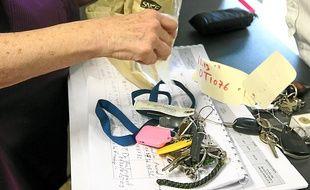 Près de 200 objets sont trouvés chaque mois dans les gares de la région.