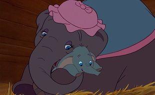 Extrait du film d'animation «Dumbo» de Disney, sorti en 1941.