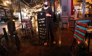 Coronavirus: La Belgique ferme ses cafés et restaurants pour quatre semaines (Illustration)