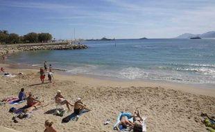 Une baigneuse a affirmé avoir été mordue par un poisson au large des plages de Cannes. Ici, la plage de la Croisette.