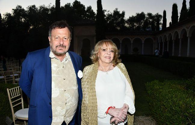 Henry-Jean Servat, ici en compagnie de l'actrice niçoise Michele Mercier, en juillet 2020