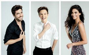 Agustin Galiana, Lenni-Kim et Tatiana Silva, finalistes de la saison 8 de «Danse avec les stars».