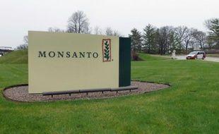L'entrée du siège de Monsanto, à Saint-Louis, dans le Missouri, le 7 avril 2014