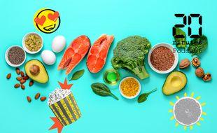 Illustration d'aliments