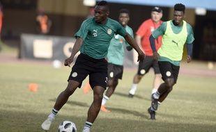 Arrivé au mercato d'hiver au Stade Rennais en provenance de West Ham, Diafra Sakho fait partie des 23 Sénégalais retenus pour le Mondial.