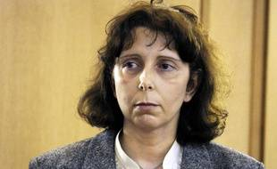Genevieve Lhermitte lors de son procès pour quintuple infanticide à Nivelles en Belgique, le 19 décembre 2008.