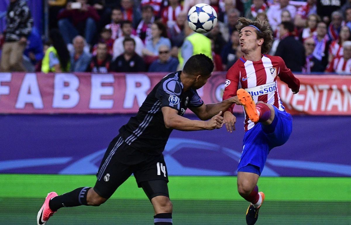 Antoine Griezmann a doublé la mise face au Real, en demi-finale retour de Ligue des champions, le 10 mai 2017. – AFP