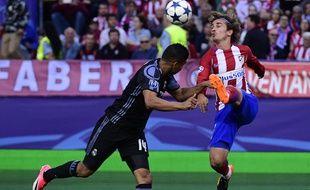 Antoine Griezmann a doublé la mise face au Real, en demi-finale retour de Ligue des champions, le 10 mai 2017.