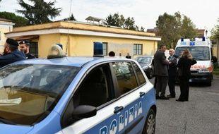 Une voiture de police italienne (illustration).